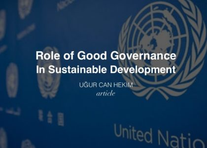Role of Good Governance in Sustainable Development